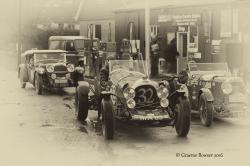 sepia-garage